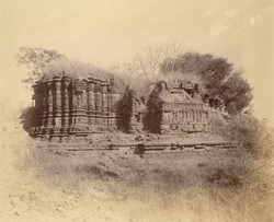 General view of south side of ruined Maheshvara Temple, Patan, Chalisgaon District